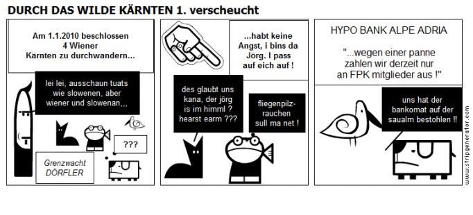 DURCH DAS WILDE KÄRNTEN 1. verscheucht