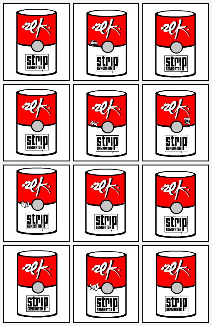 12 Cans Of Zek's Stripgenerator