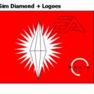 Sim Diamond + Logoes