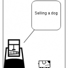 selling a dog