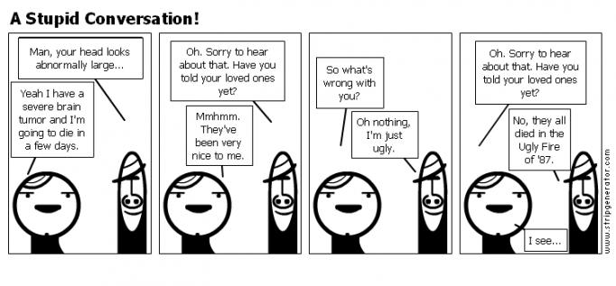 A Stupid Conversation!