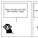 Like a monkey