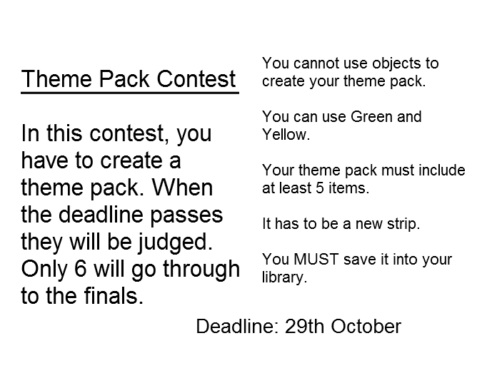 Theme Pack Contest