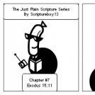 The Just Plain Scripture Series/ Chapter # 7