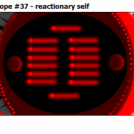 Radiotronic isotope #37 - reactionary self