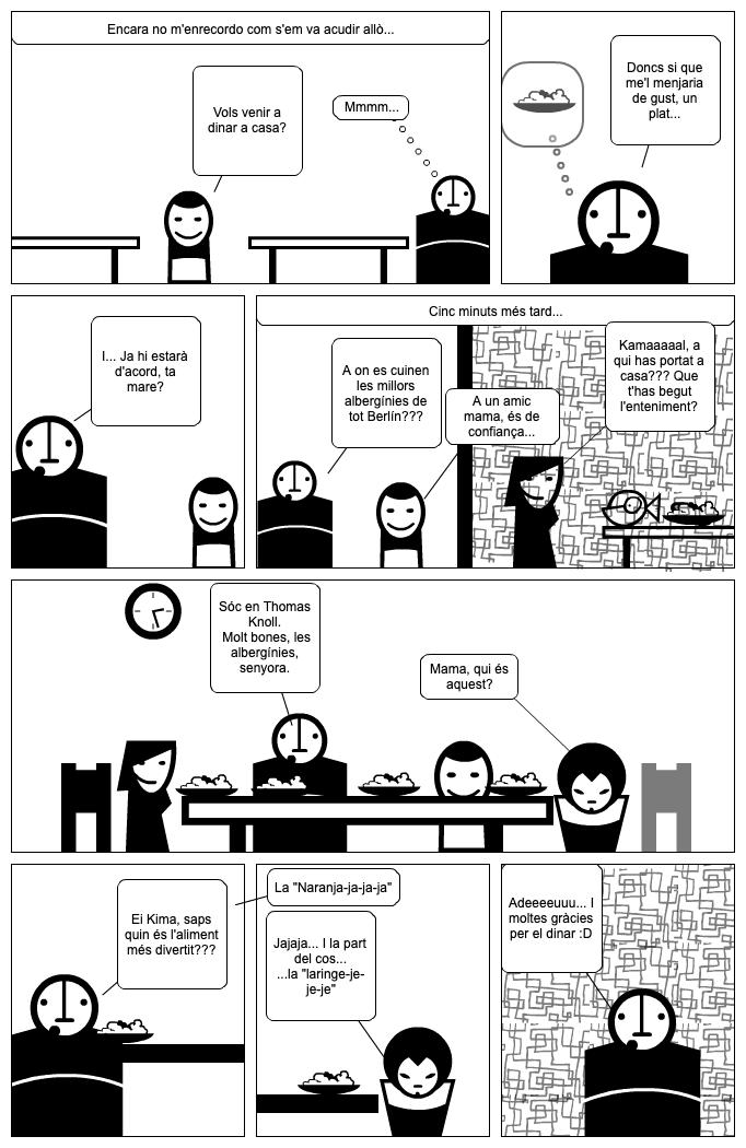 Kamal i els Alfabetistes per Miquel Cucurull