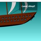 Aqua man: Land, Ahoy..