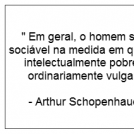 #Schopenhauer feelings