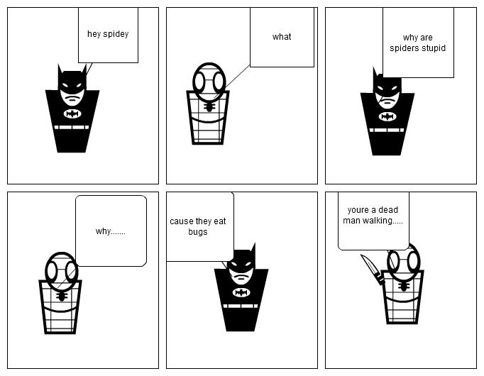 spider man hates batman