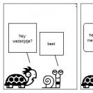 de slak en de schildpad