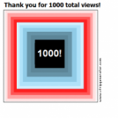 Thank you for 1000 total views!
