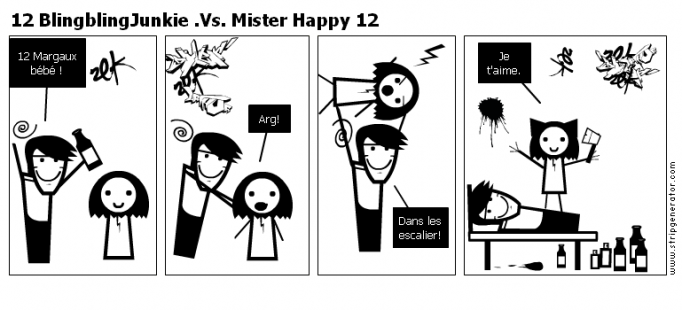 12 BlingblingJunkie .Vs. Mister Happy 12