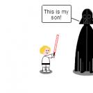 Dad Vader.