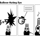 Devil Bunny meets Balloon-Hating Eye