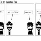 1. Meet Elek, the geek / In medias res