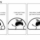 Chopping a story