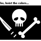 Yo ho, hoist the colors...