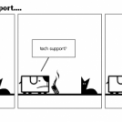 gotta love tech support....