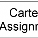 Carter's assignment