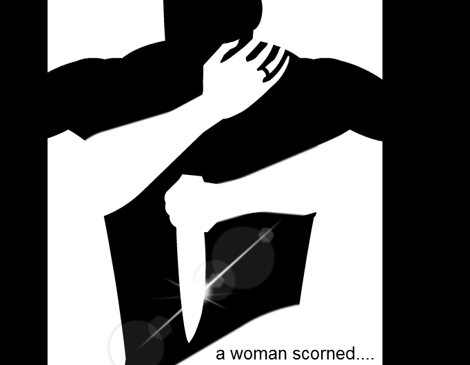 a woman scorned...