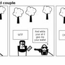 Hero and Villian odd couple