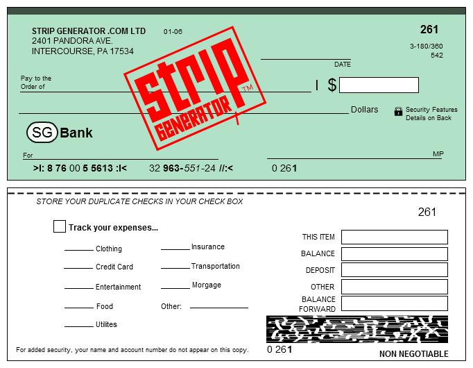 Stripgenerator.com - SG VOID CHECK