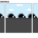 THE MARCH OF THE LEMMINGS