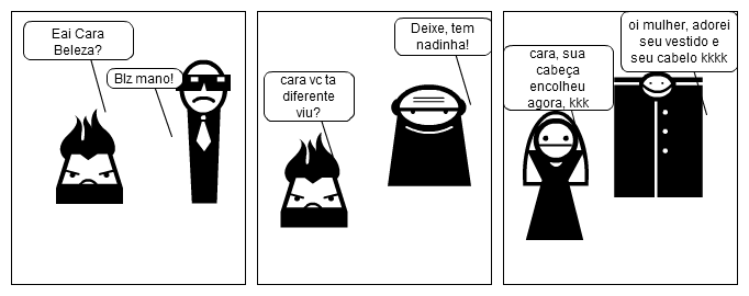 a revolta, e o troco