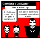Gerivnia e Josivalter com Ex Min. Lupi