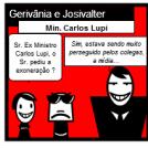 Gerivânia e Josivalter com Ex Min. Lupi