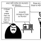 Ano de copa do mundo no Brasil