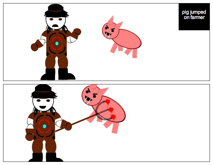 Farmer vs pig part 2