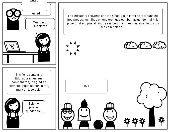 "Comic: Cómic ""El Bullying""."