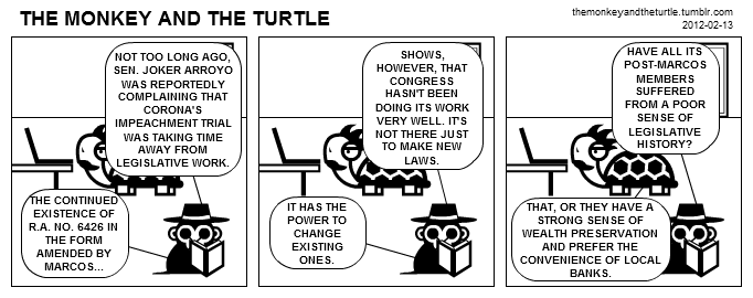 The Monkey and the Turtle (2012-02-13)