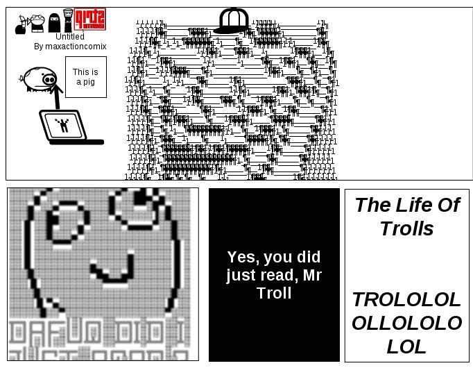 A Troll On SG