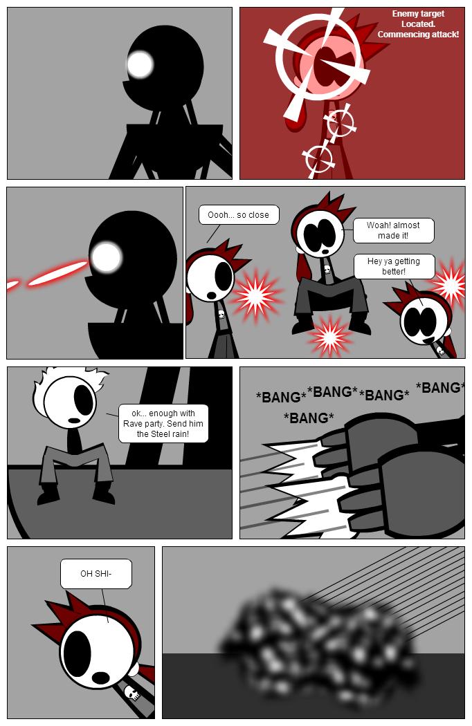 Neo vs Rude pg 7: STEEL RAIN!