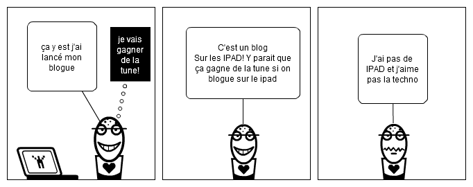 l'art ce bloguer