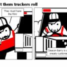 Bill the Klingon - Let them truckers roll