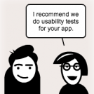 Usability tests: Actions not opinions