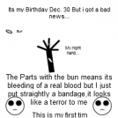 Birthday and A Bad News