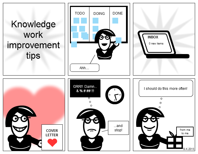 Knowledge work improvement tips
