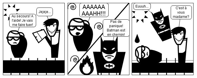Batman à l'attaque!