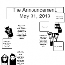 The Announcement: May 2013