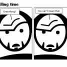 Bill the Klingon - Telling time