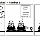Men in black (and white) - Number 3