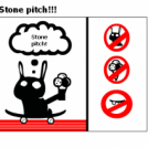 Stone pitch!!!