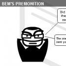 Bem's premonition