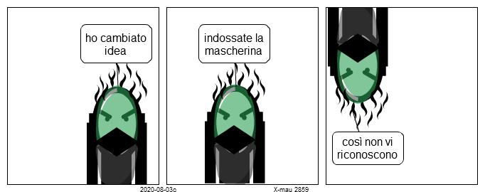 (2859) mascherine