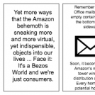 It's a Bezos World