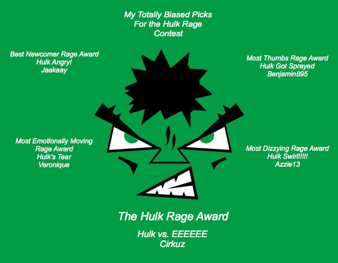 Hulk Rage Results
